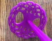Tree of Life Drop Spindle, All-in-One, Top Whorl, Bottom Whorl, Supported, Tree of Life, 3D Printed, Spinning, Handspinner, Spinner Gift