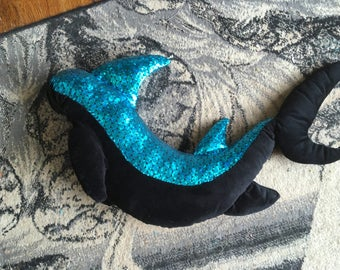 Shark fursuit costume tail
