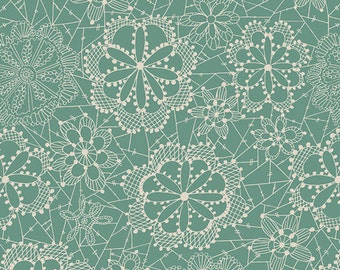 Baby Crib Bedding - Seafoam Green - Crib Sheet - Floral