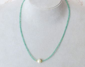 Pearl Necklace/ Goldfilled Necklace/ All Ocation/ For Her