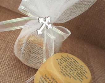 Communion Favor Prayer Cube