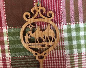 Christmas Ornament - Wisemen Camel