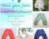 Breezy Boho Harems, CUSTOM Fabric Choice, Boys, Gender Neutral, Cotton Summer Pants, Harem Pants, Woven Harems