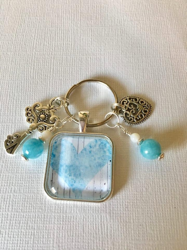 inspire key ring wire wrapped unique key ring inspire