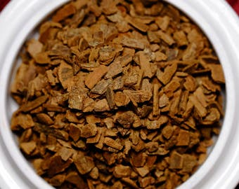 Cinnamon Chips Herbal:   Cut Cinnamon Bark for Herbal Teas, Infusions, Tisanes,  Ingredient, No Caffeine