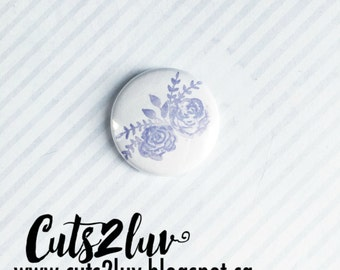 "Badge 1 ""lilac flowers"