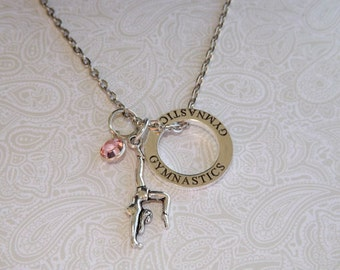 Personalized Gymnastics Necklace