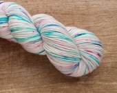 Wildflower (one of a kind) - superwash merino/nylon sock yarn (463 yards) fingering weight