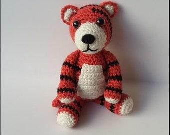 Crochet Pattern - Tyler the Tiger