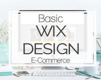 WIX website design - Custom website design on WIX - Wix Web Design Package - Basic WIX Website Design - wix webdesign - Custom wix -