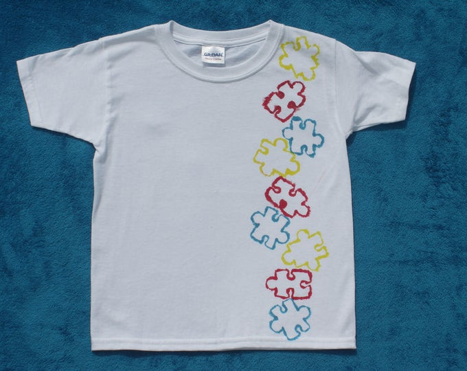 Childs' T-Shirt - 2 - 3 Years - Puzzle T-Shirt