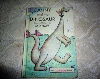 Danny And The Dinosaur First Edition Book Vintage Children's Classic Story Book By Syd Hoff Harper and Row Publishers An I Can Read Book