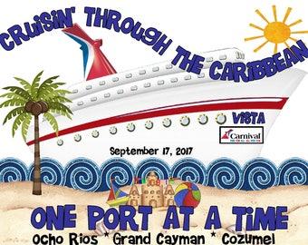 Carnival Vista cruise vacation shirt - September group shirt