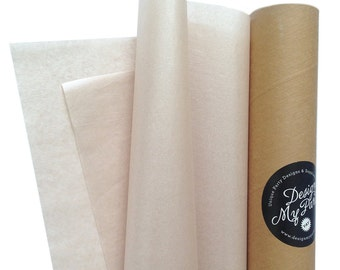 Champagne Crystalised Satin Wrap (2 Sided) 40 sheets