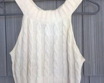 90's Knit Crop