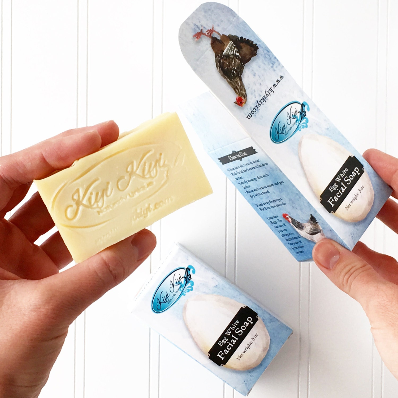 Egg White Facial Soap 71