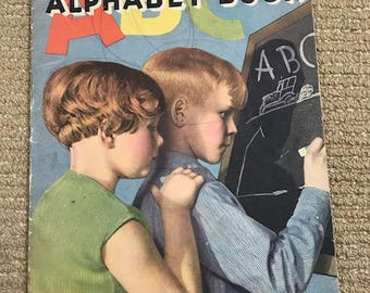 1935 ABC Alphabet Book