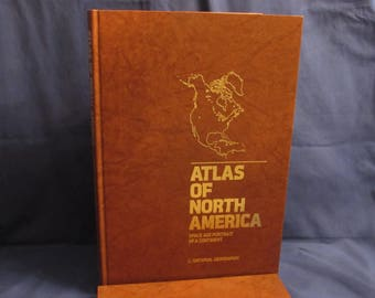 National Geographic NORTH AMERICA ATLAS 1985