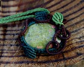 Micromacrame Necklace wit...