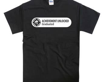 Xbox Achievement Graduated Tshirt
