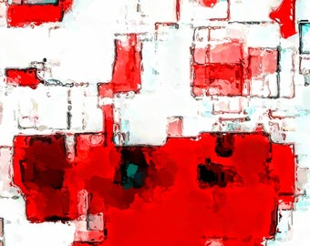 PASSION IN RED - Print ***Instant Digital Download***