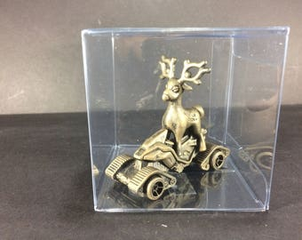 Pokemon Stantler Go Cart Custom Figure