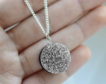 Glitter Dot Necklace