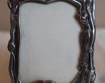 Small Pewter Frame Etsy