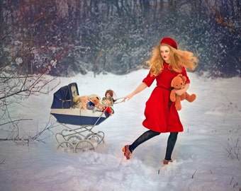 "Postcard ""In preparing the next Christmas"""