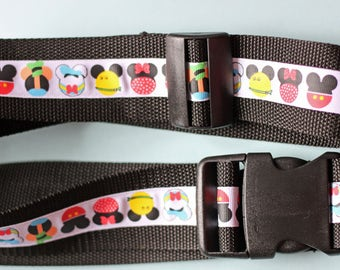 "Luggage belt ""Heads"""