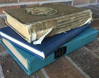 Decorative Books // Old Books // Vintage Books // Antique Book