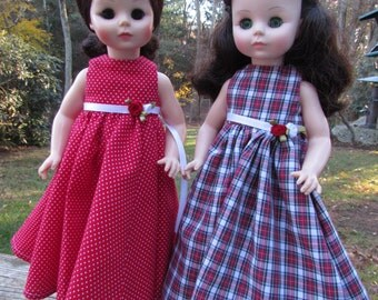 "Holiday Dolls 13 1/2"" Madame Alexander"