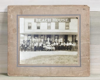 Antique Beach House Photograph