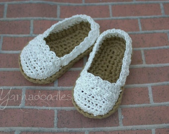 Baby Espadrilles, Infant Espadrilles, Espadrille Shoes, Crochet Baby Shoes, Baby Girl Shoes, Infant Girl Shoes, Crochet Espadrilles, Shoes