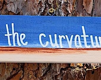 Flat Earth, Wher's the curvature, sign board, beach sign, milage sign, directional sign.