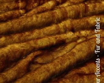 Faux Fur Medium Red Brown English Fox Fur - Fabric - Shag, Crafts, Sewing, Baby & Pet  Photo Props