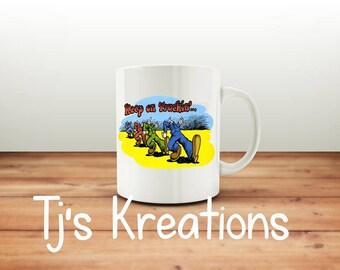 keep On Trucking Mug
