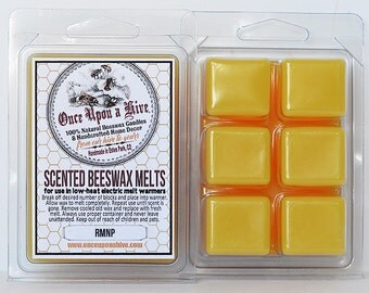 RMNP Beeswax Melts | 3 oz. | Natural | Melt-Warmers | Wax Melts | Scented