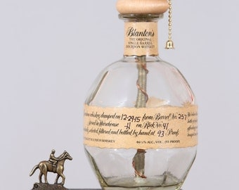 Blanton's Bourbon Bottle Lamp