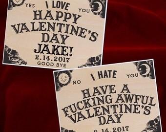 Ouija Valentine Card, Funny Valentine Card, Horror Valentine, Naughty  Valentine, Mean Valentineu0027s