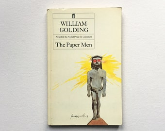 The Paper Men / William Golding / 1985 / Vintage and Collectable
