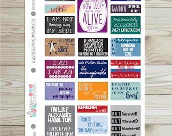Quotes - Hamilton Inspired