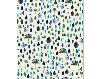 Raining Tears Wrapping Paper | Made in Australia