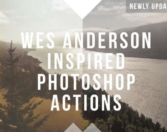 Wes Anderson Inspired Photoshop Actions Bundle