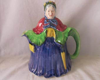 English Teapot Little Old Lady