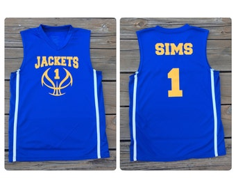 Youth Personalized Basketball Jersey