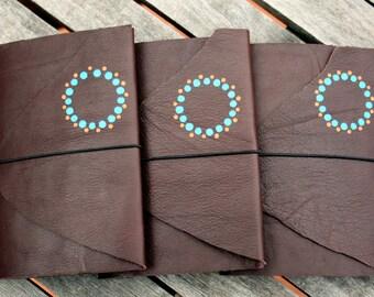 Leather Notebook / Handmade in Australia