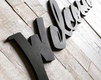 Custom lettering / Thrive sign
