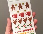 Christmas Enamel Dots