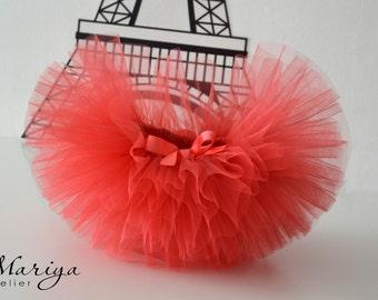 Baby Tutu Skirt - Birthday Tutu- Cake Smash Tutu - Kid's Skirt - Short Fluffy Tutu - baby tutu